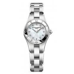 Acheter Montre Femme Baume & Mercier Linea 10011 Diamants Nacre Quartz