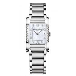 Acheter Montre Femme Baume & Mercier Hampton 10051 Diamants Nacre Quartz