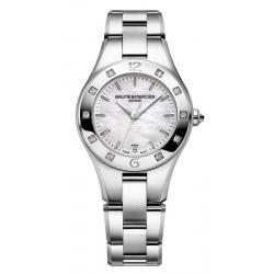 Acheter Montre Femme Baume & Mercier Linea 10071 Diamants Nacre