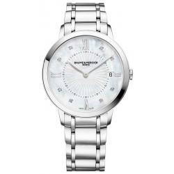 Montre Femme Baume & Mercier Classima 10225 Diamants Nacre Quartz