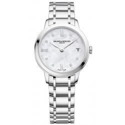 Acheter Montre Femme Baume & Mercier Classima 10326 Diamants Nacre Quartz