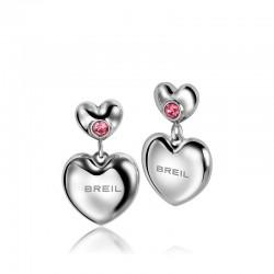 Acheter Boucles d'Oreilles Femme Breil Love Around TJ1704 Cœur