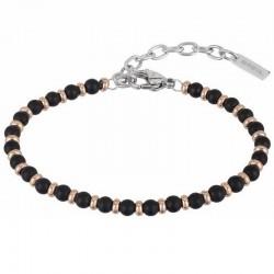 Bracelet Homme Breil Black Onyx TJ2409
