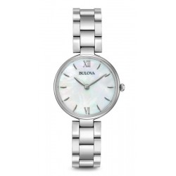 Montre Femme Bulova Dress 96L229 Nacre Quartz