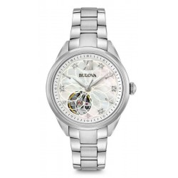 Montre Femme Bulova Classic 96P181 Diamants Nacre Quartz