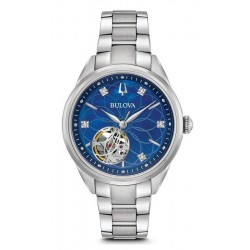Montre Femme Bulova Classic 96P191 Diamants Nacre Quartz