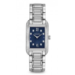 Montre Femme Bulova Curv Diamonds 96R211 Diamants Quartz