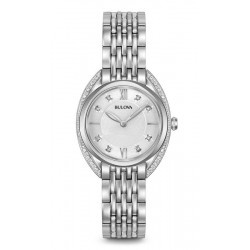 Montre Femme Bulova Curv Diamonds 96R212 Diamants Quartz