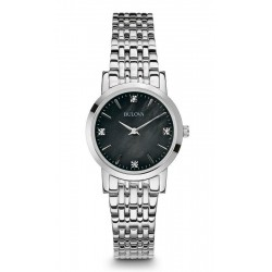 Montre Femme Bulova Diamonds 96S148 Diamants Nacre Quartz