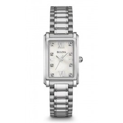 Montre Femme Bulova Diamonds 96S157 Diamants Nacre Quartz