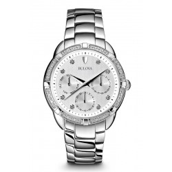 Acheter Montre Femme Bulova Diamonds 96W195 Diamants Quartz