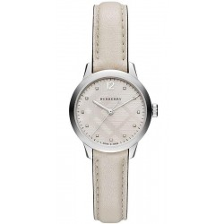 Acheter Montre Burberry Femme The Classic Round BU10105 Diamants