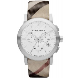 Acheter Montre Burberry Homme The City Nova Check BU9357 Chronographe