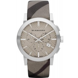 Acheter Montre Burberry Homme The City Nova Check BU9358 Chronographe