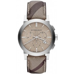 Acheter Montre Burberry Homme The City Nova Check BU9361 Chronographe