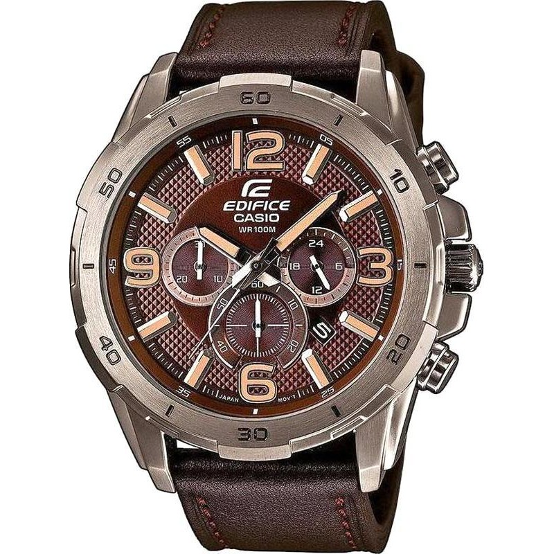 Montre Homme Casio Edifice EFR 538L 5AVUEF Chronographe  TXzW8