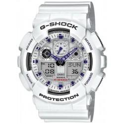 Acheter Montre Homme Casio G-Shock GA-100A-7AER Multifonction Ana-Digi
