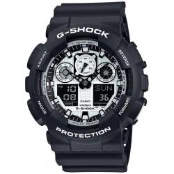 Acheter Montre Homme Casio G-Shock GA-100BW-1AER Multifonction Ana-Digi