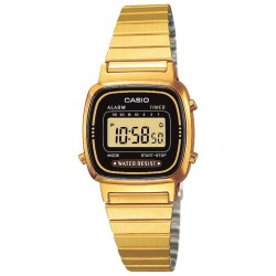 Montre Femme Casio Collection LA670WEGA-1EF Multifonction Digital