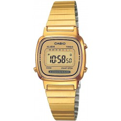 Montre Femme Casio Collection LA670WEGA-9EF Multifonction Digital