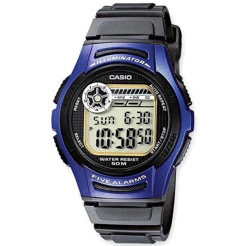 Montre Homme Casio Collection W 213 2AVES Multifonction  foeBx