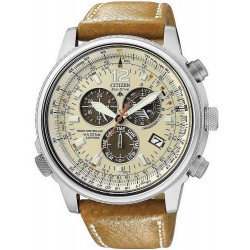 Montre Citizen AS4020-44B Promaster Chrono Radio Pilotée Homme