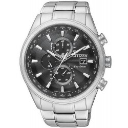 Acheter Montre Homme Citizen Chrono Eco-Drive Radio Pilotèe AT8011-55E