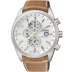 Acheter Montre Homme Citizen Chrono Eco-Drive Radio Pilotèe AT8017-08A