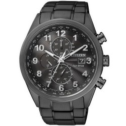 Acheter Montre Homme Citizen Chrono Eco-Drive Radio Pilotèe AT8018-56E