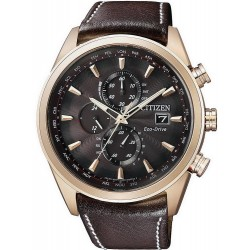 Acheter Montre Homme Citizen Chrono Eco-Drive Radio Pilotèe AT8019-02W