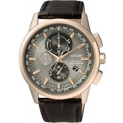 Montre Homme Citizen Radio Pilotèe Chrono Evolution 5 AT8113-12H