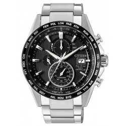 Montre Homme Citizen Radio Pilotèe H800 Titane Eco-Drive AT8154-82E