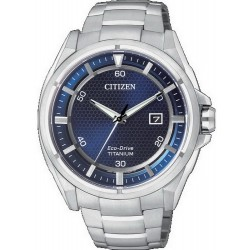 Montre Homme Citizen Super Titanium Eco-Drive AW1400-52M