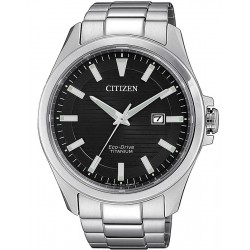 Montre Homme Citizen Super Titanium Eco-Drive BM7470-84E