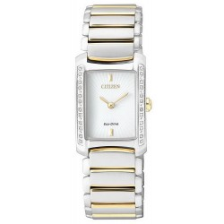Acheter Montre Citizen Femme Eco-Drive EG2965-53A Diamants