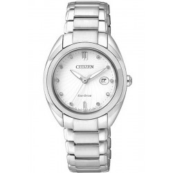 Acheter Montre Citizen Femme Eco-Drive EM0310-61B Diamants