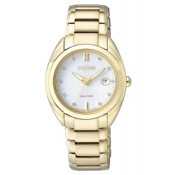 Acheter Montre Citizen Femme Eco-Drive EM0313-54A Diamants