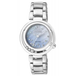 Acheter Montre Citizen Femme Eco-Drive EM0321-56D Diamants Nacre