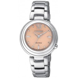 Acheter Montre Citizen Femme Eco-Drive EM0331-52W Diamants Nacre