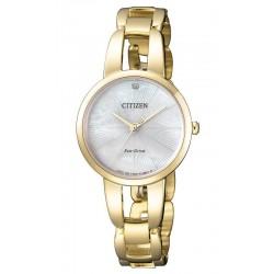 Acheter Montre Citizen Femme Eco-Drive EM0432-80Y Diamant Nacre