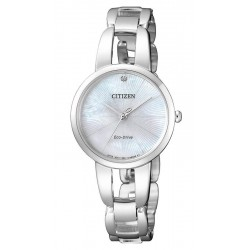 Acheter Montre Citizen Femme Eco-Drive EM0430-85N Diamant Nacre