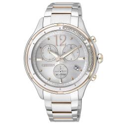 Acheter Montre Citizen Femme Chrono Eco-Drive FB1375-57A Diamants