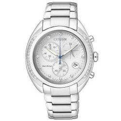 Acheter Montre Citizen Femme Chrono Eco-Drive FB1381-54A Diamants