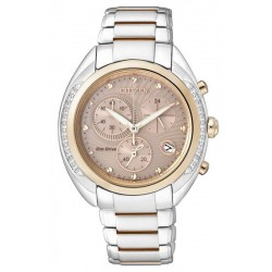 Acheter Montre Citizen Femme Chrono Eco-Drive FB1385-53W Diamants