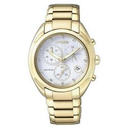 Acheter Montre Citizen Femme Chrono Eco-Drive FB1396-57A Diamants