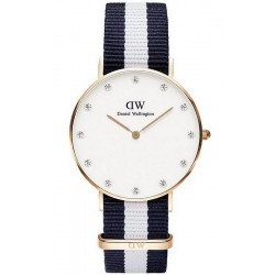 Montre Femme Daniel Wellington Classic Glasgow 34MM DW00100078