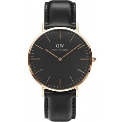 Acheter Montre Homme Daniel Wellington Classic Black Sheffield 40MM DW00100127