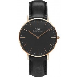 Acheter Montre Unisex Daniel Wellington Classic Black Sheffield 36MM DW00100139