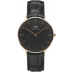 Acheter Montre Unisex Daniel Wellington Classic Black Reading 36MM DW00100141