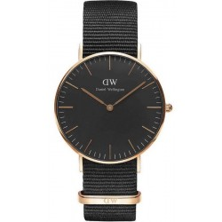 Acheter Montre Unisex Daniel Wellington Classic Black Cornwall 36MM DW00100150